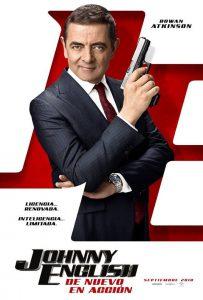 """Poster for the movie """"Johnny English: De nuevo en acción"""""""