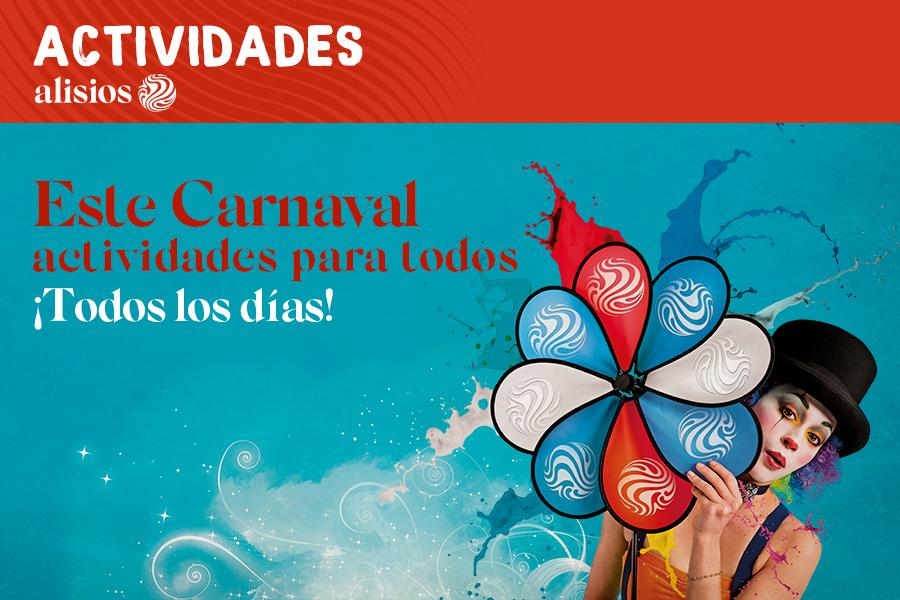 actividades carnaval alisios