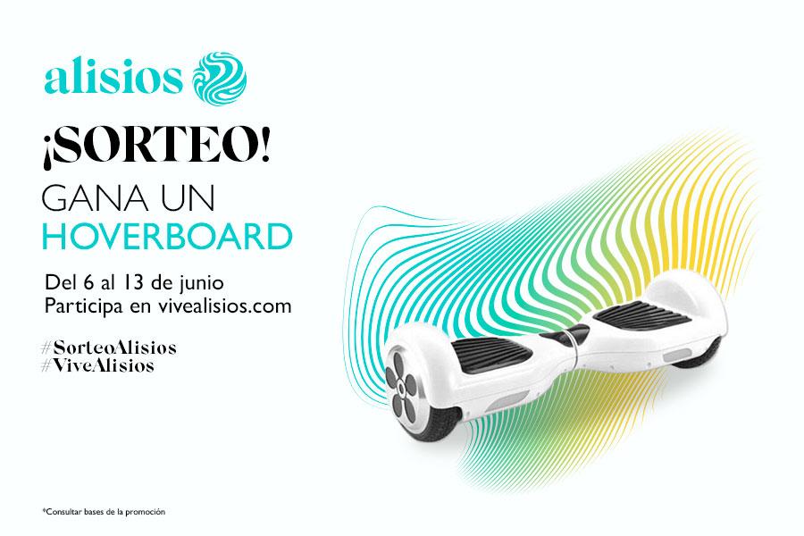Gana un Hoverboard en Alisios