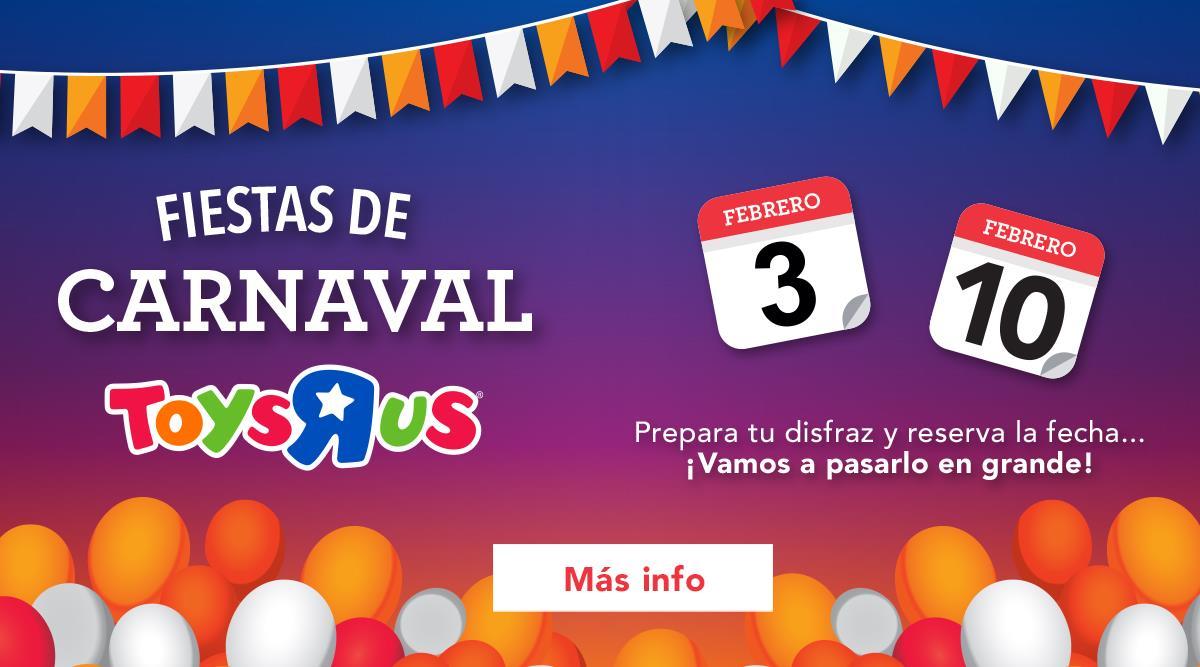 Carnaval en Toys R Us - Vive Alisios