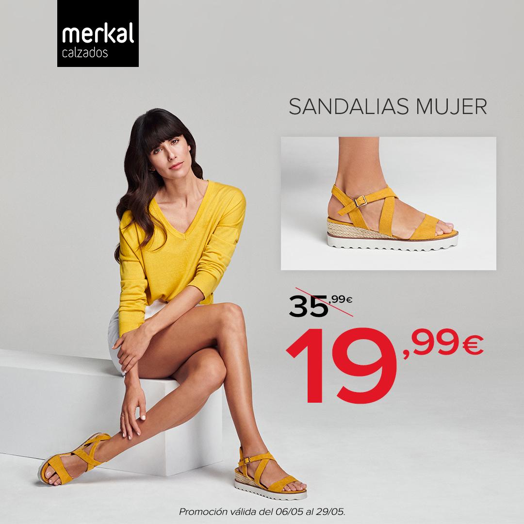 nuevo estilo de 2019 disfruta del mejor precio cupón doble Descuentos en calzados y complementos Merkal Calzados en ...