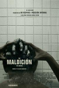 """Poster for the movie """"La Maldición (The Grudge)"""""""