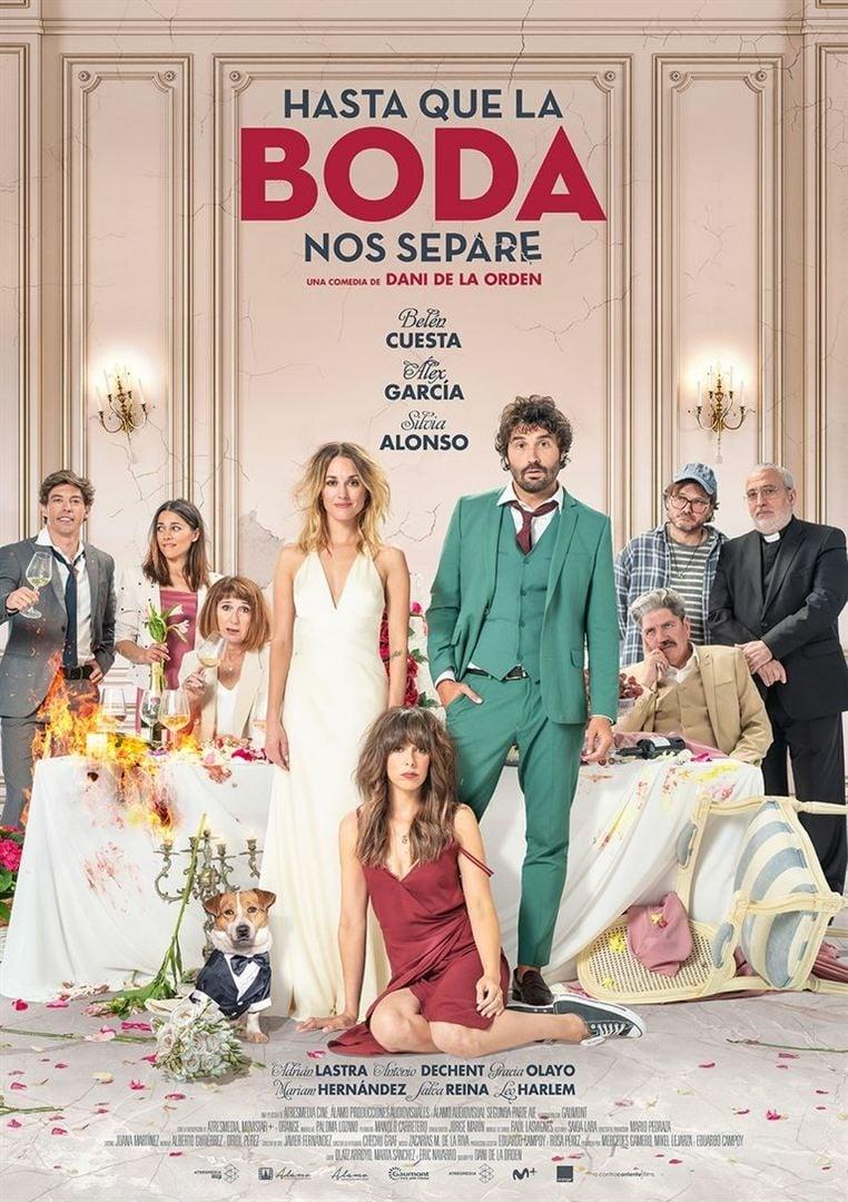 """Poster for the movie """"Hasta que la boda nos separe"""""""