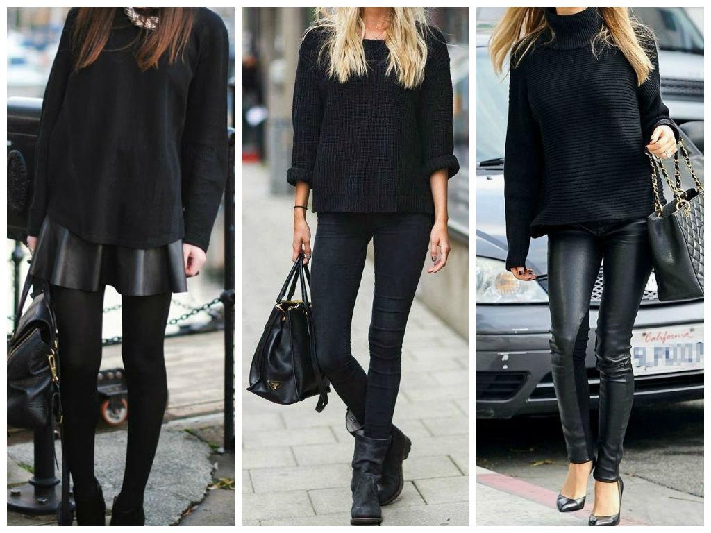 prendas básicas negras
